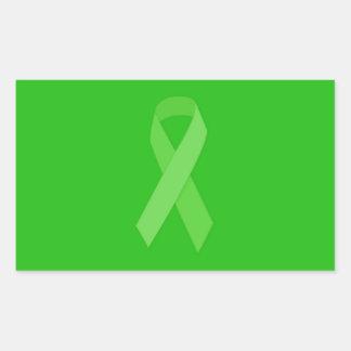 GREEN RIBBON CAUSES Organ & Tissue Donors, Mental Sticker