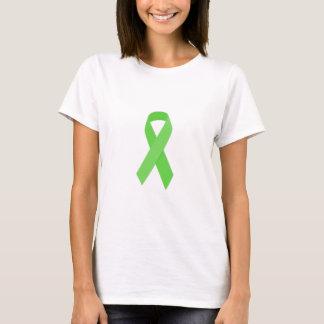GREEN RIBBON CAUSES Organ & Tissue Donors, Mental T-Shirt
