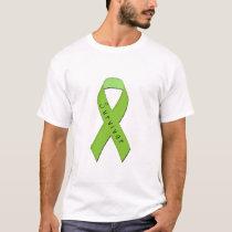 Green Ribbon Disease Awareness T-Shirt