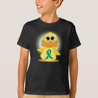 Green Ribbon Duck T-Shirt