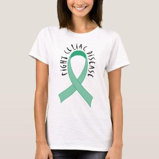 Green Ribbon Fight Celiac Disease Gift T-Shirt
