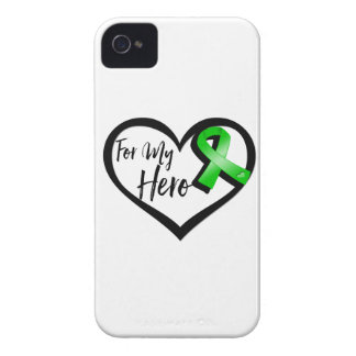 Green Ribbon For My Hero Case-Mate iPhone 4 Case
