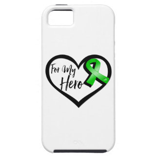 Green Ribbon For My Hero iPhone SE/5/5s Case