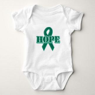 Green Ribbon - Hope Baby Bodysuit