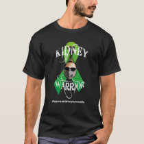 Green Ribbon Kidney Warrior - Dark Shirts