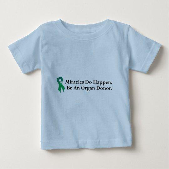 Green Ribbon Miracle Baby T-Shirt
