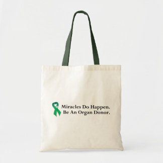 Green Ribbon Miracle Tote Bag