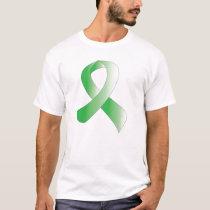 Green Ribbon - Personalize T-Shirt