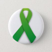green ribbon pinback button