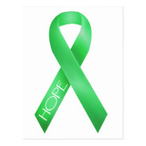 Green Ribbon Postcard