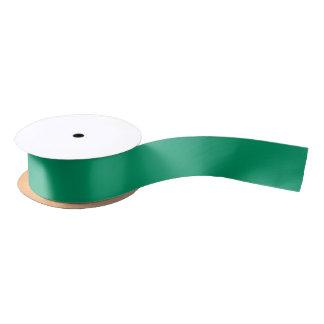 Green Ribbon to Match Silver Jingle Jingle Satin Ribbon