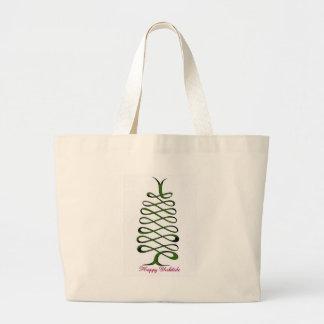 Green Ribbon Tree Tote Bag