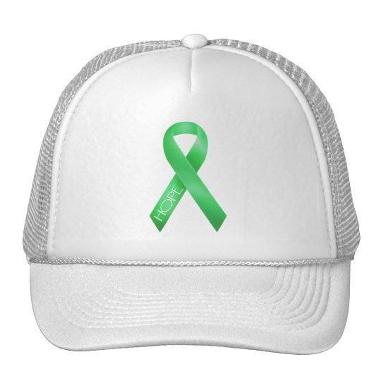 Green Ribbon Trucker Hat