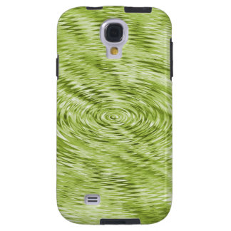 Green Ripples Galaxy S4 Case