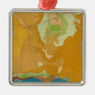 Green River Basin Geological Christmas Tree Ornaments
