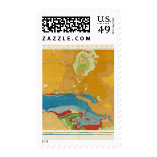 Green River Basin Geological Stamp