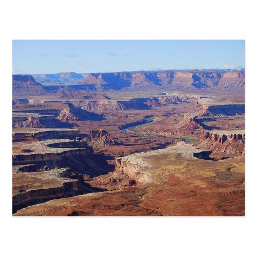 Green River, Canyonlands National Park, Utah Postcard