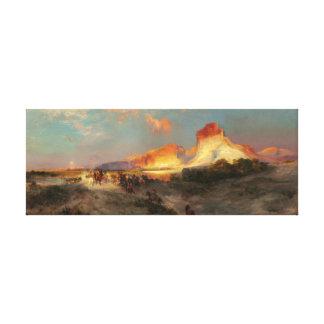 Green River Cliffs, Wyoming Canvas Print