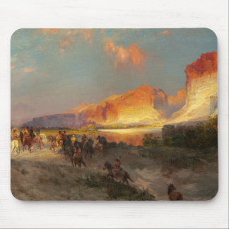 Green River Cliffs, Wyoming Mouse Pad