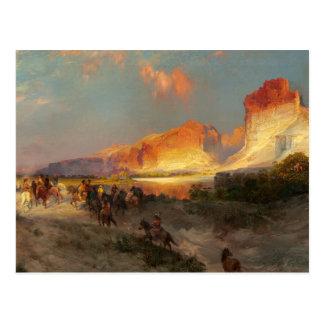 Green River Cliffs, Wyoming Postcard