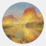 Green River de Wyoming - 1878 Etiqueta Redonda