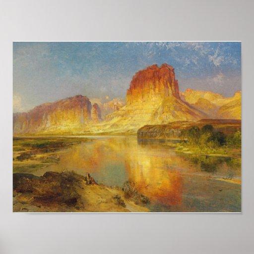 Green River de Wyoming - 1878 Impresiones