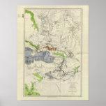 Green River del mapa de ferrocarril pacífico de la Impresiones
