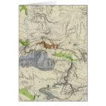 Green River del mapa de ferrocarril pacífico de la Tarjetas