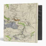 Green River from the Union Pacific Rail Road Map Vinyl Binder