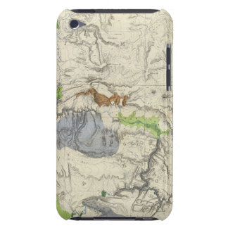 Green River from the Union Pacific Rail Road Map iPod Touch Case