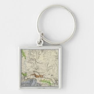 Green River from the Union Pacific Rail Road Map Keychain