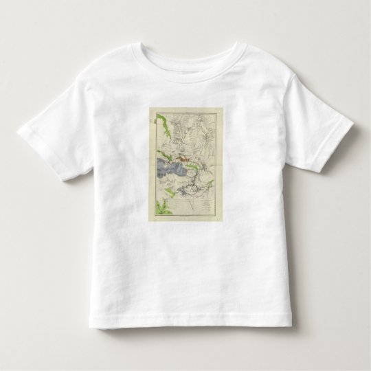 Green River from the Union Pacific Rail Road Map Toddler T-shirt