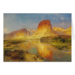Green River of Wyoming - 1878 Stationery Note Card