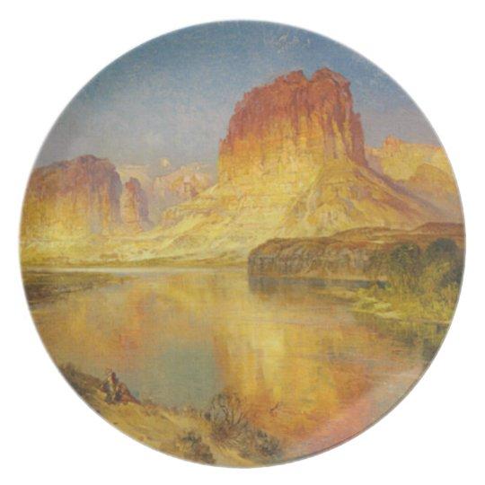 Green River of Wyoming - Thomas Moran (1878) Dinner Plate