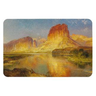 Green River of Wyoming - Thomas Moran (1878) Magnet