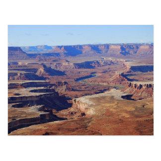 Green River, parque nacional de Canyonlands, Utah Tarjeta Postal
