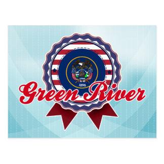 Green River, UT Tarjetas Postales