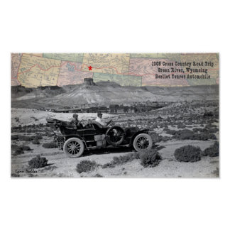 Green River WY 1908 Poster