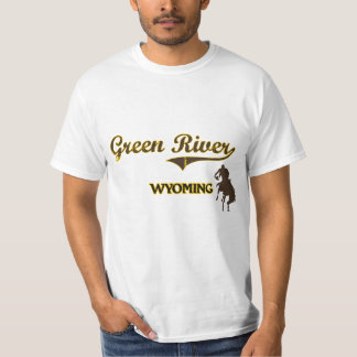 Green River Wyoming City Classic Tee Shirt