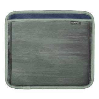 Green riveted steel texture iPad sleeves