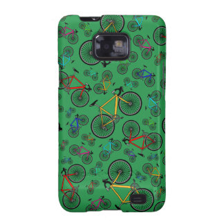 Green road bikes galaxy SII covers