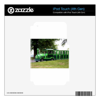 Green road train locomotive decal for iPod touch 4G
