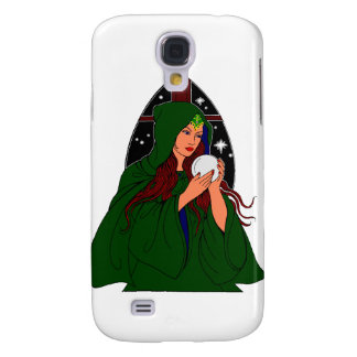 Green Robe Wiccan. Samsung S4 Case