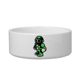 Green Robot Bowl