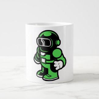 Green Robot Giant Coffee Mug
