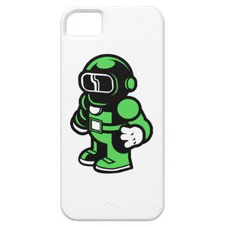 Green Robot iPhone SE/5/5s Case
