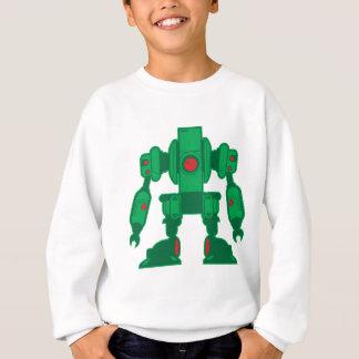 Green Robot Sweatshirt