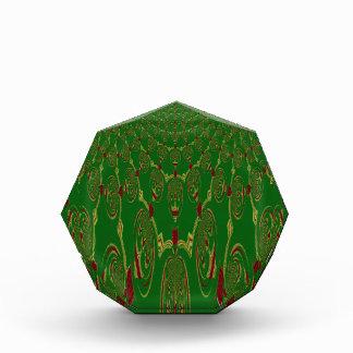 Green Robots Acrylic Award