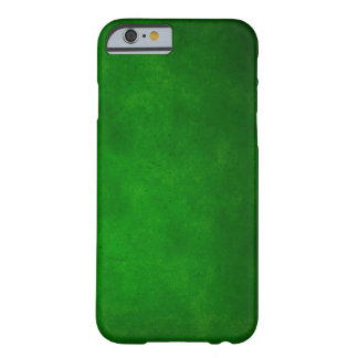 Green Rock Leather Barely There iPhone 6 Case