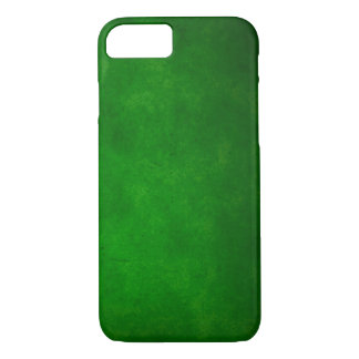 Green Rock Leather iPhone 7 Case